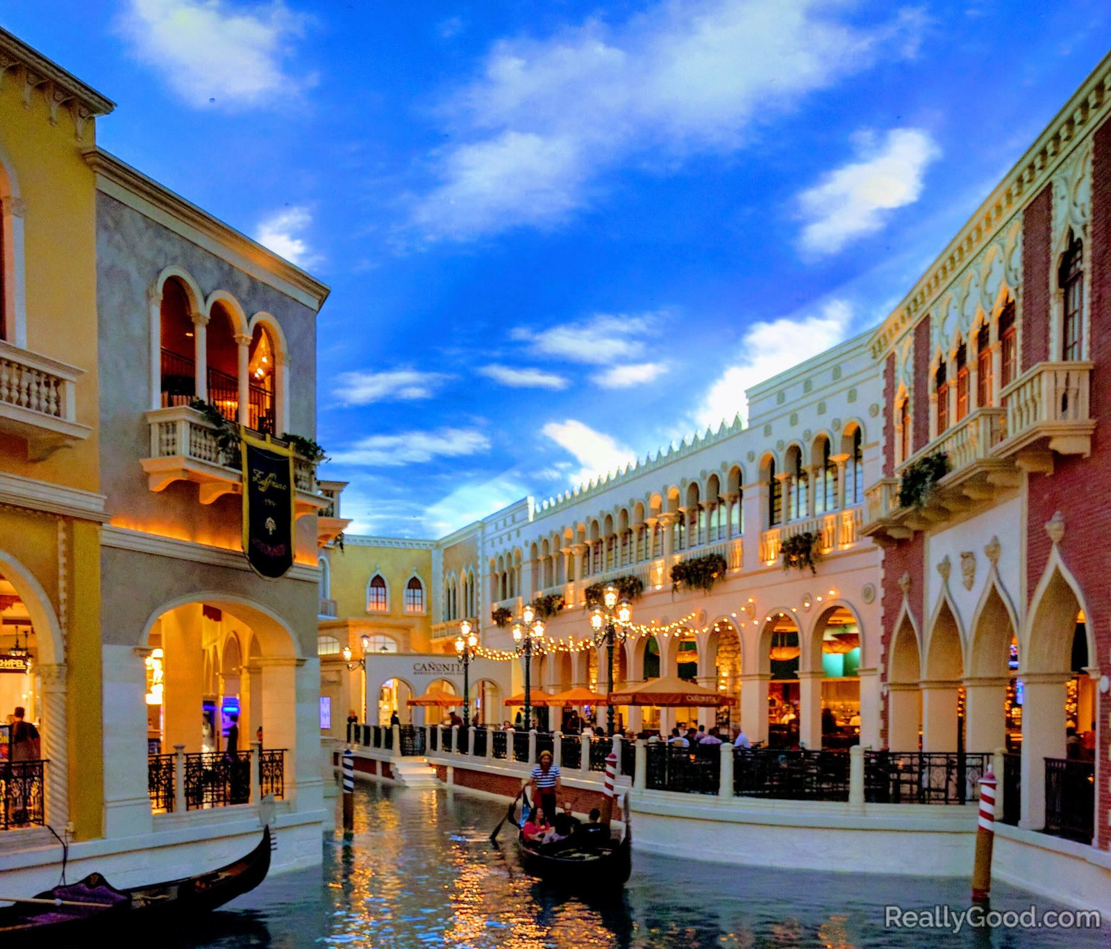 The Grand Canal Shoppes in Las Vegas
