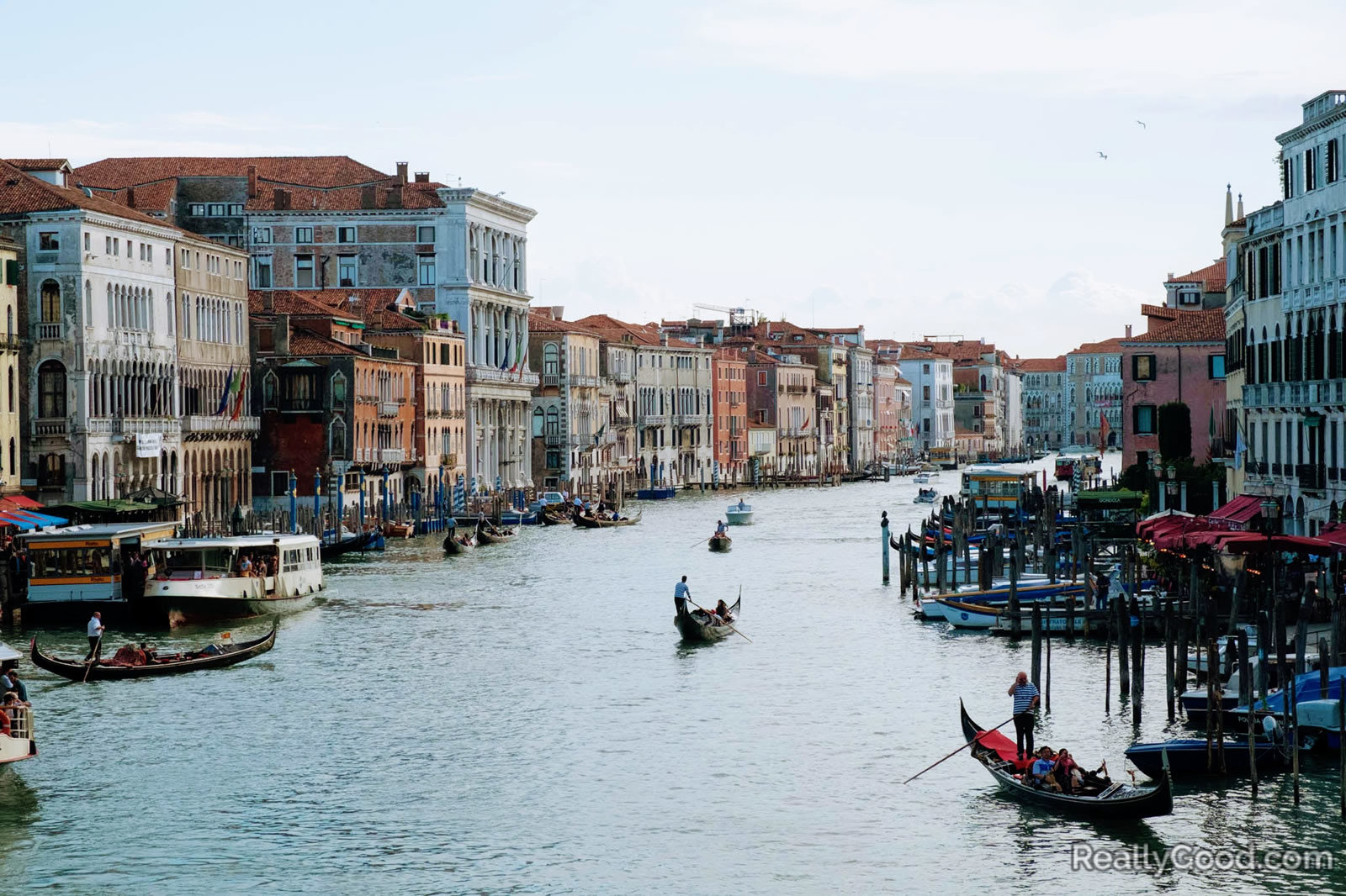 Venice, Italy waterway